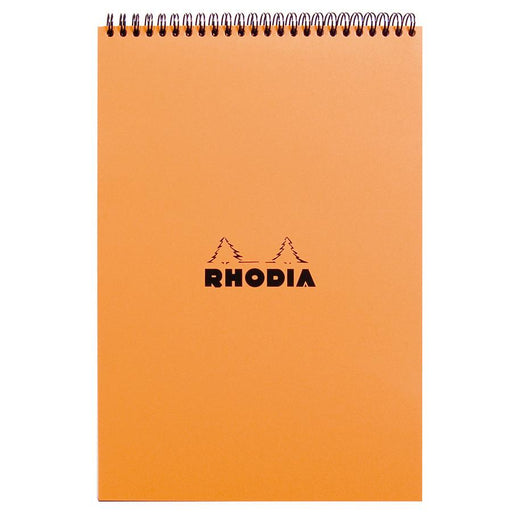 Rhodia Soft Cover Wirebound Pad, Orange, Graph Paper - Fendrihan Canada - 1
