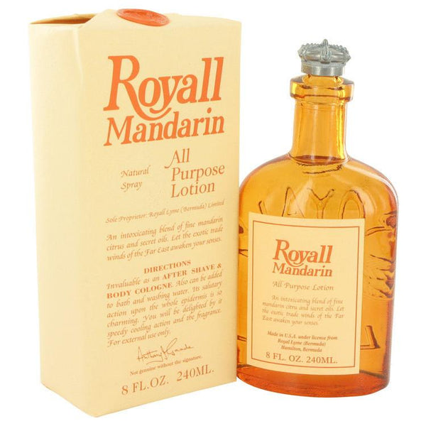 Royall Mandarin All Purpose Lotion, 4 oz Natural Spray - Fendrihan Canada - 1