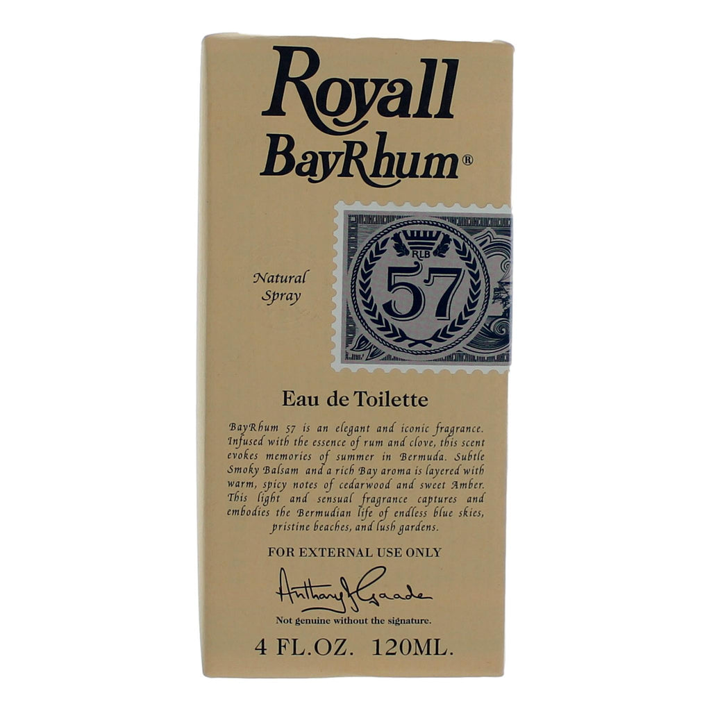 Royall Bay Rhum '57 Eau de Toilette Men's Fragrance Royall Lyme Bermuda