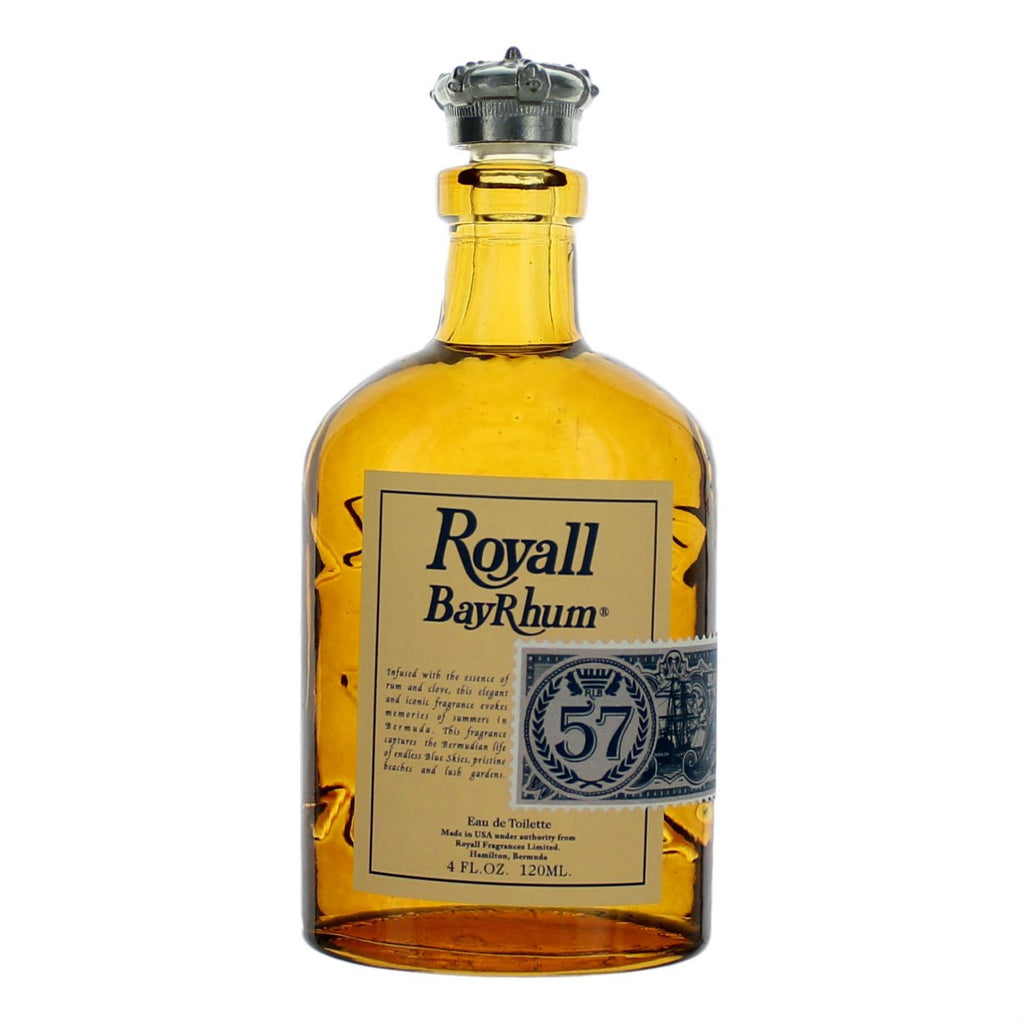 Royall Bay Rhum '57 Eau de Toilette Men's Fragrance Royall Lyme Bermuda Natural Spray: 4 fl oz (120 ml)