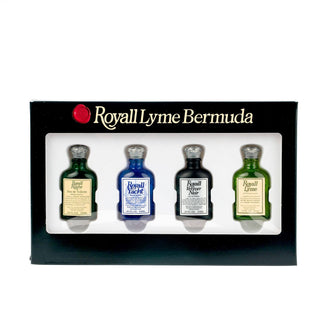 Royall Masters Collection Mini Sampler Set Men's Fragrance Royall Lyme Bermuda
