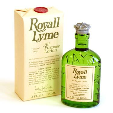 Royall Lyme All-Purpose Lotion, 4 oz Natural Spray Aftershave Royall Lyme Bermuda