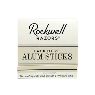 Rockwell Alum Matchsticks, 1 book Aftershave Remedies Rockwell