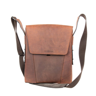 Ruitertassen Classic 2175 Leather Shoulder Bag, Ranger Brown Leather Messenger Bag Ruitertassen