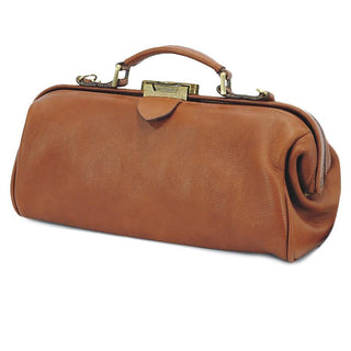 05c8748c9 Ruitertassen Soft 4100 Leather Doctor's Bag, Brown Grooming Travel Case  Ruitertassen