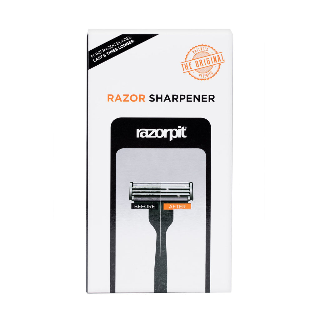 RazorPit 3.0 Razor Blade Sharpener with Mirror & Wall Mount Cartridge Type Safety Razor RazorPit