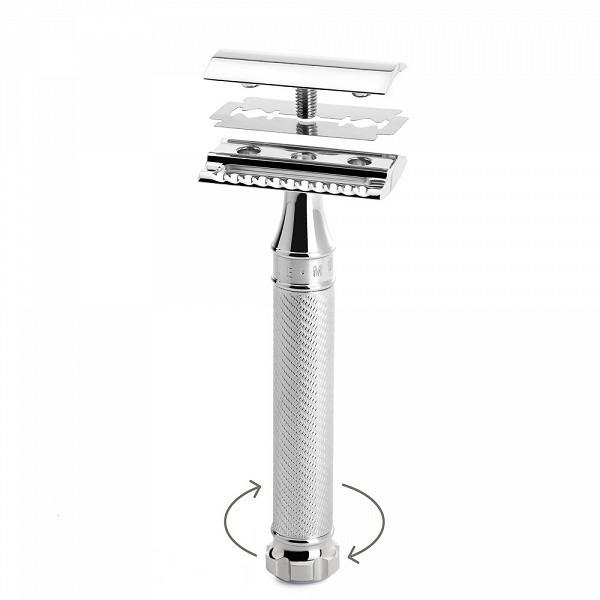 Muhle R89 Twist Double-Edge Classic Safety Razor - Fendrihan Canada - 2