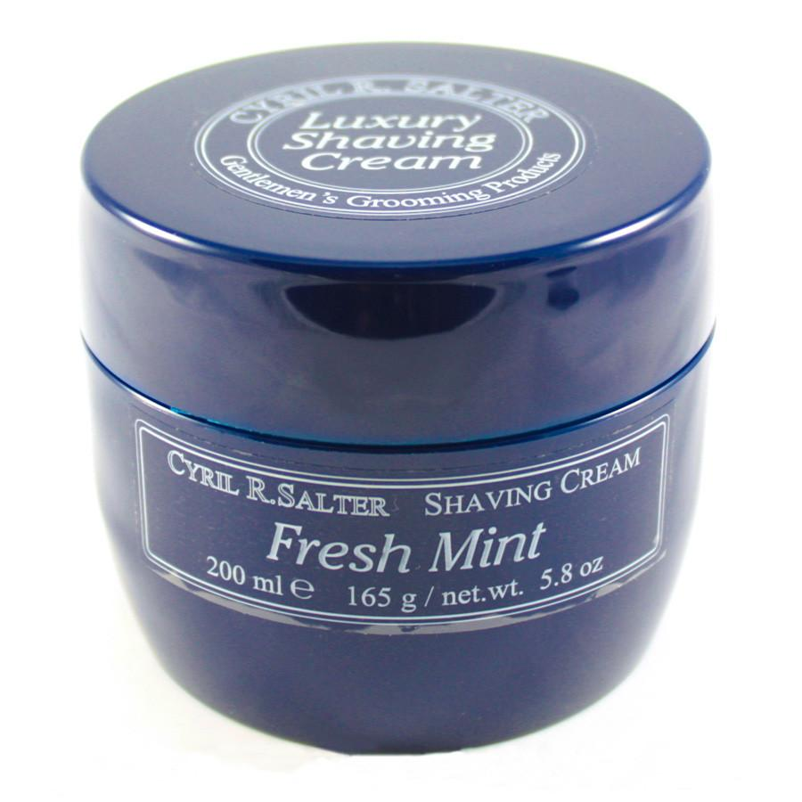 Cyril R Salter Fresh Mint Luxury Shaving Cream Shaving Cream Cyril R. Salter