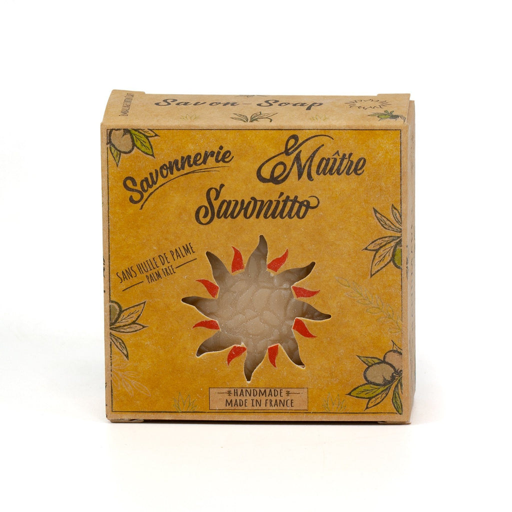 Maître Savonitto Aloe Vera Soap, Palm Oil-Free Body Soap Maître Savonitto Amber