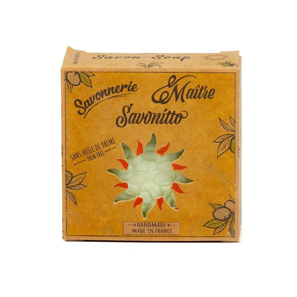 Maître Savonitto Aloe Vera Soap, Palm Oil-Free Body Soap Maître Savonitto Mint