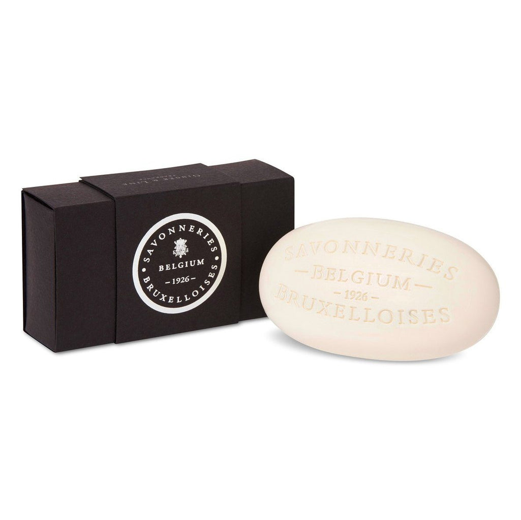 Savonneries Bruxelloises Single Box Soap Bar Body Soap Savonneries Bruxelloises Ginger & Lime