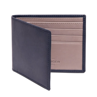 Ettinger Saint Crispin Billfold Leather Wallet with 6 CC Slots Leather Wallet Ettinger