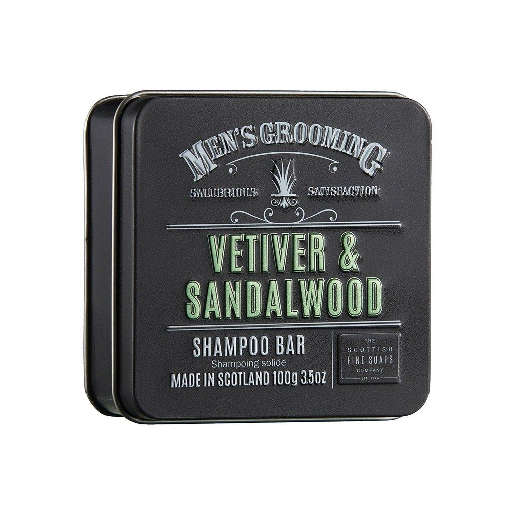 Scottish Fine Soaps Vetiver & Sandalwood Shampoo Bar Shampoo Scottish Fine Soaps