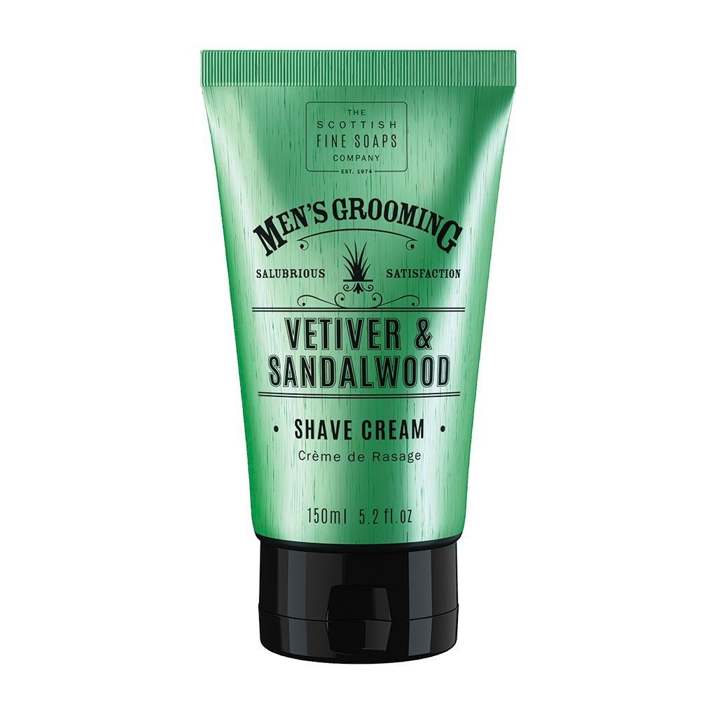 Scottish Fine Soaps Vetiver & Sandalwood Shave Cream Shaving Cream Scottish Fine Soaps