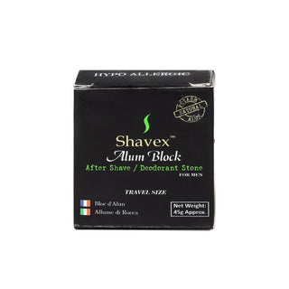 Shavex Alum Block with Storage Case, Travel Size Aftershave Remedies Other