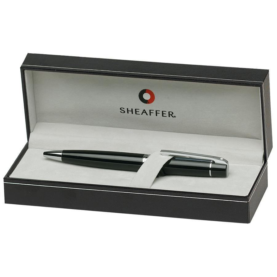 Sheaffer 300 Ballpoint Pen, Glossy Black with Chrome Plate Trim Ball Point Pen Sheaffer