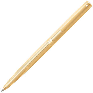 Sheaffer Sagaris Ballpoint Pen, Fluted Gold Tone Cap and Barrel Featuring Gold Tone Trim Ball Point Pen Sheaffer