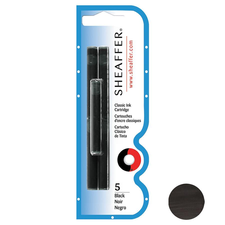 Sheaffer Skrip Fountain Pen Ink Cartridges, 5-pack Ink Refill Sheaffer Black