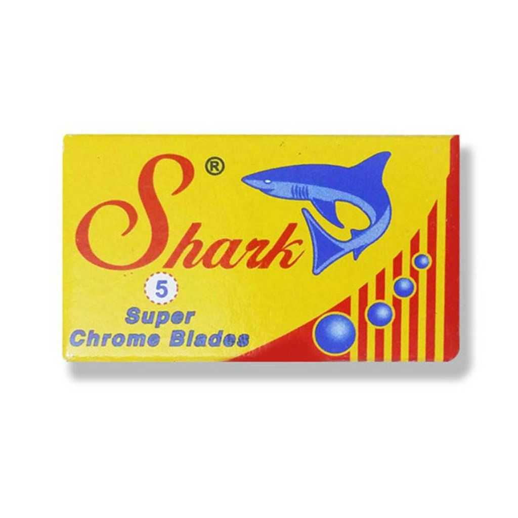 10 Shark Super Chrome Double Edge Razor Blades Razor Blades Other