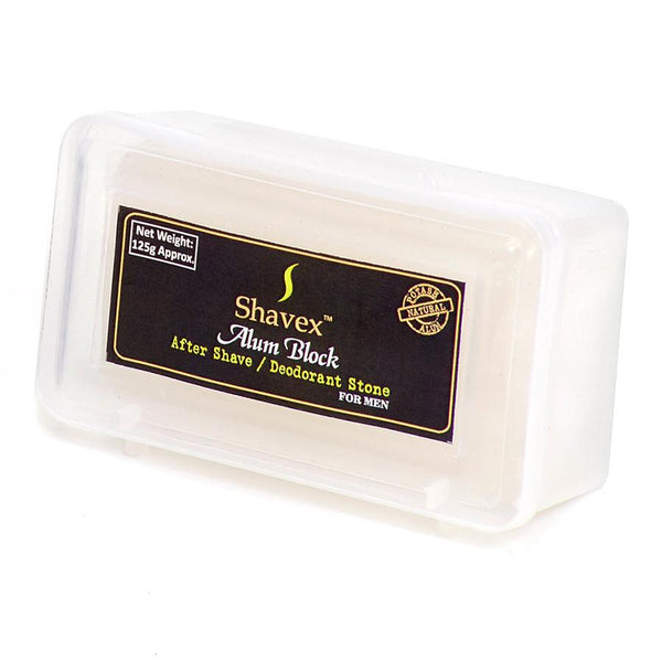 Shavex Alum Block with Storage Case - Fendrihan Canada - 2