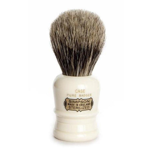 Simpsons Case Pure Badger Shaving Brush - Fendrihan Canada