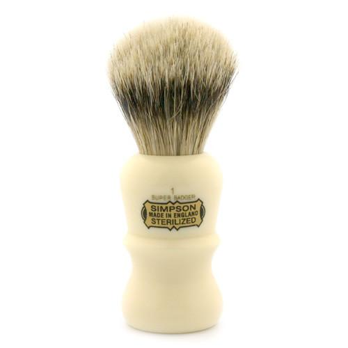 Simpsons Emperor 1 Super Badger Shaving Brush - Fendrihan Canada