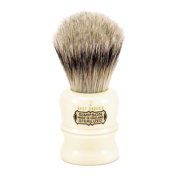Simpsons Duke 2 Best Badger Shaving Brush - Fendrihan Canada - 1
