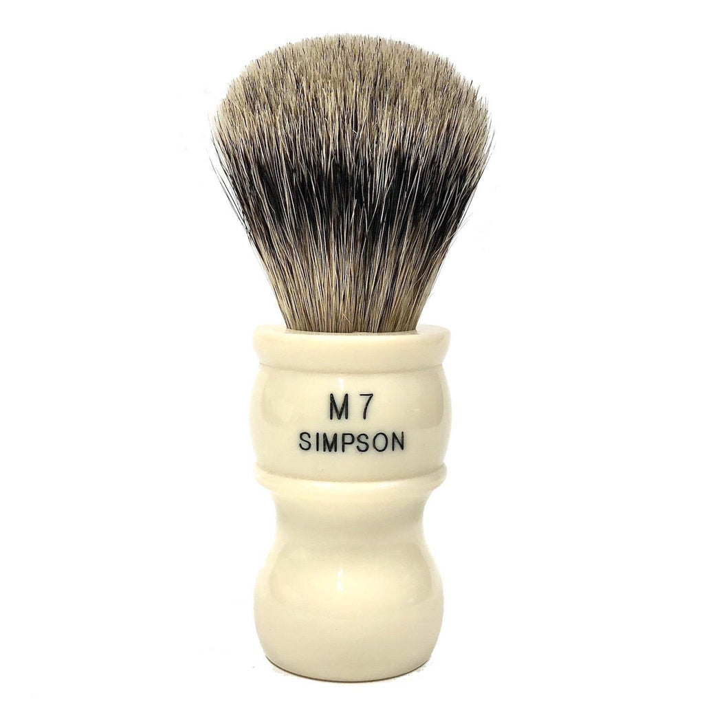 Simpsons M7 Best Badger Shaving Brush Badger Bristles Shaving Brush Simpsons