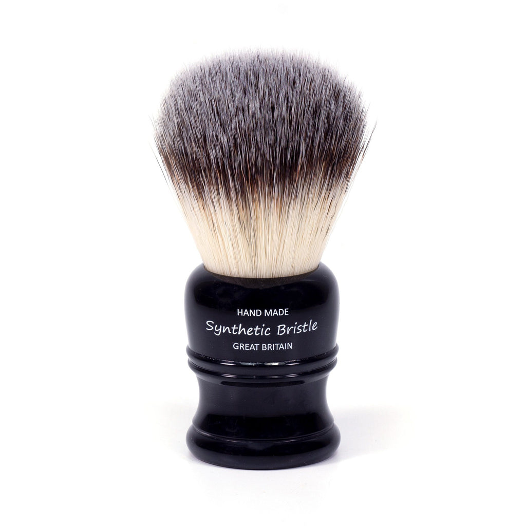 Simpsons Simfix Synthetic Shaving Brush, Faux Ebony Handle Synthetic Bristles Shaving Brush Simpsons
