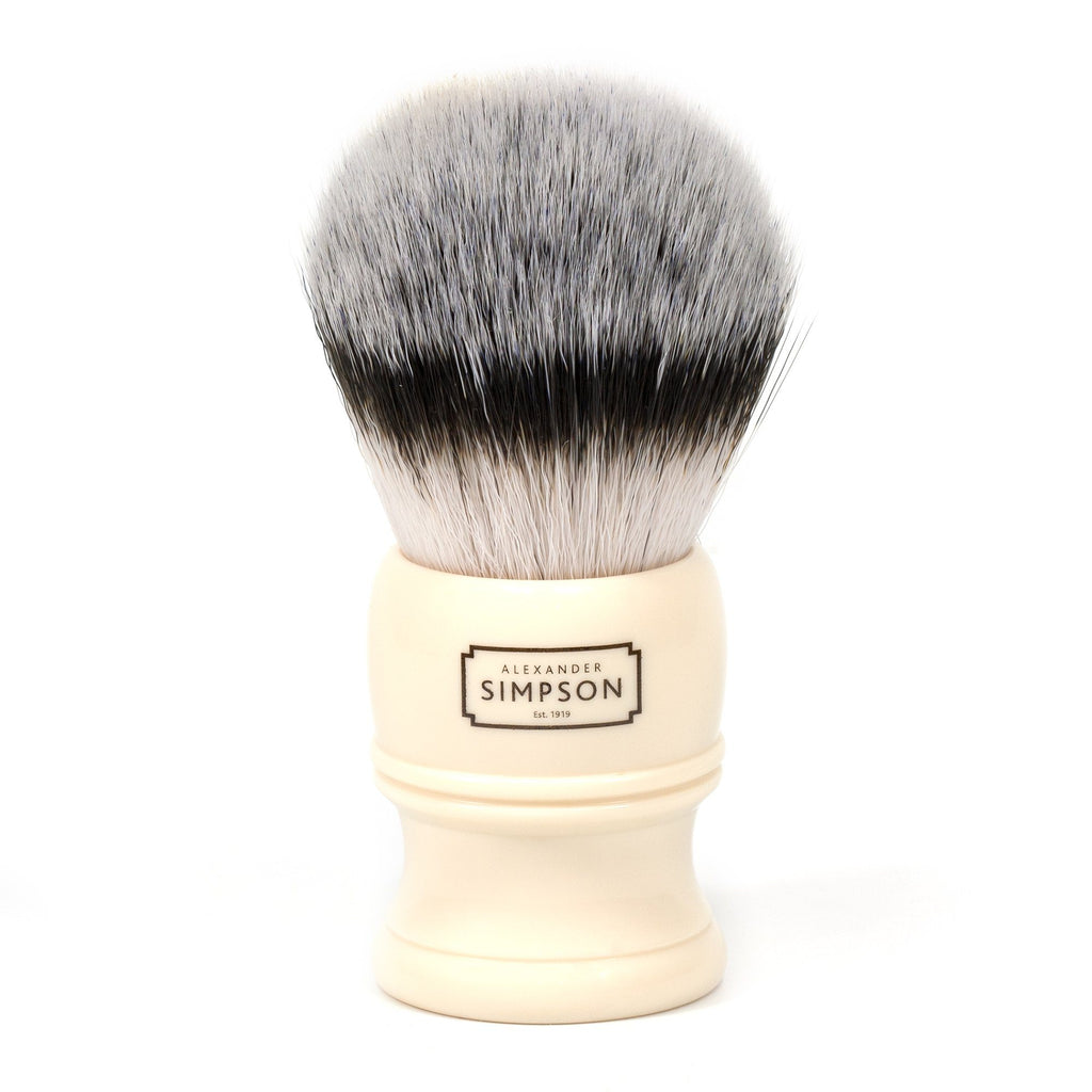 Simpsons Alexander Simpson Trafalgar T3 Synthetic Shaving Brush Synthetic Bristles Shaving Brush Simpsons