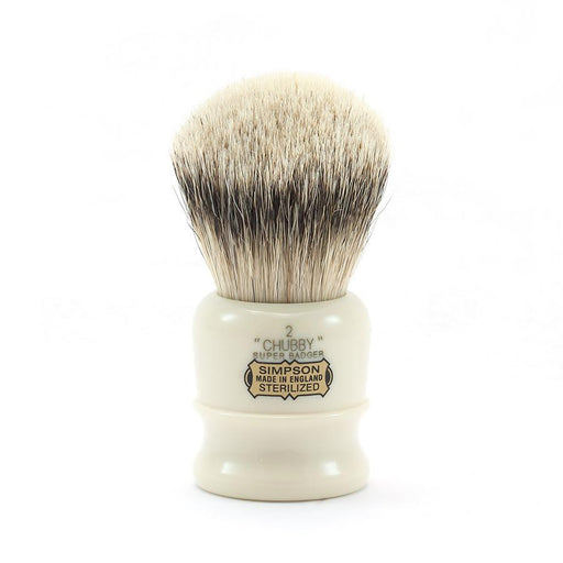 Simpsons Chubby 2 Super Badger Shaving Brush - Fendrihan Canada