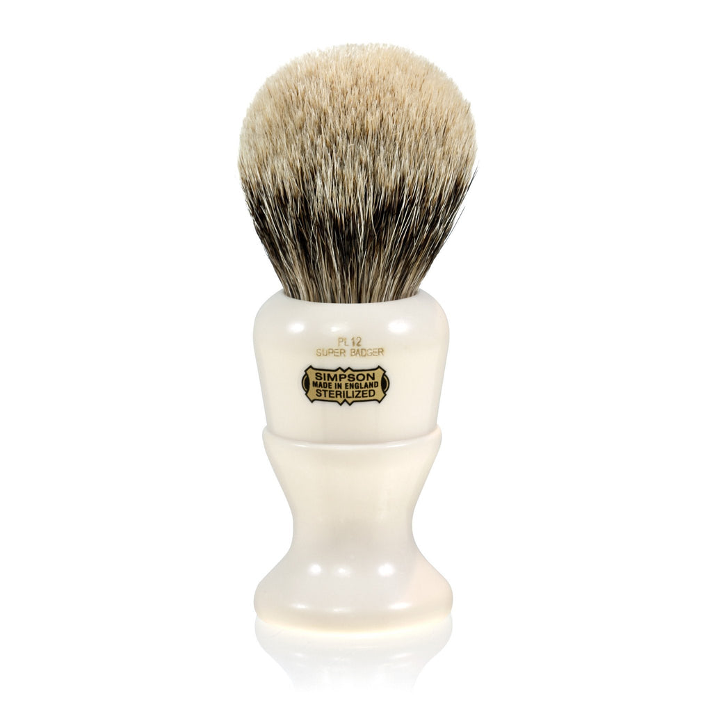 Simpsons Polo 12 Super Bager Shaving Brush Badger Bristles Shaving Brush Simpsons