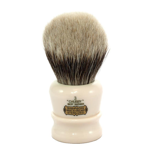 Simpsons Chubby 3 Best Badger Shaving Brush - Fendrihan Canada - 1
