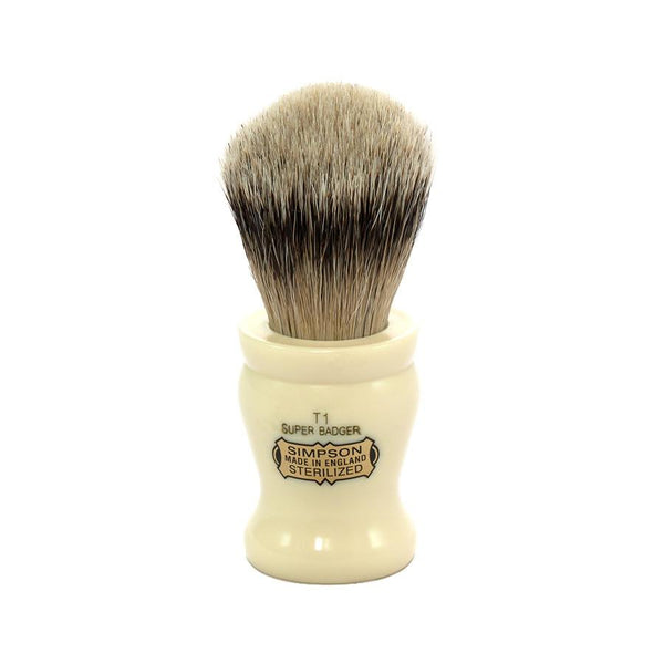 Simpsons Tulip 1 Super Badger Shaving Brush - Fendrihan Canada - 1