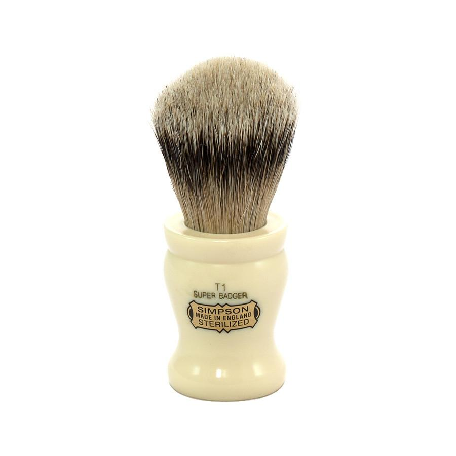 Simpsons Tulip 1 Super Badger Shaving Brush Badger Bristles Shaving Brush Simpsons