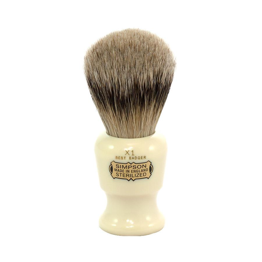 Simpsons The Commodore X1 Best Badger Shaving Brush Badger Bristles Shaving Brush Simpsons
