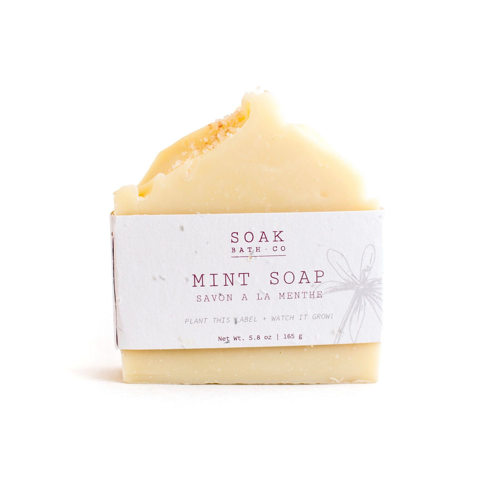SOAK Bath Co. Soap Bar Body Soap SOAK Bath Co Mint
