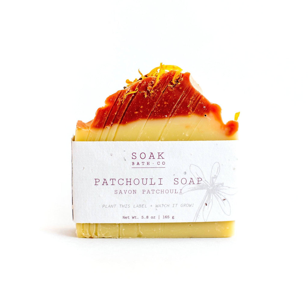 SOAK Bath Co. Soap Bar Body Soap SOAK Bath Co Patchouli