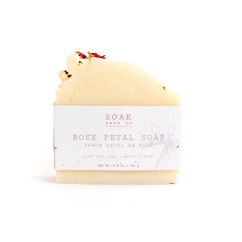 SOAK Bath Co. Soap Bar Body Soap SOAK Bath Co Rose Petal