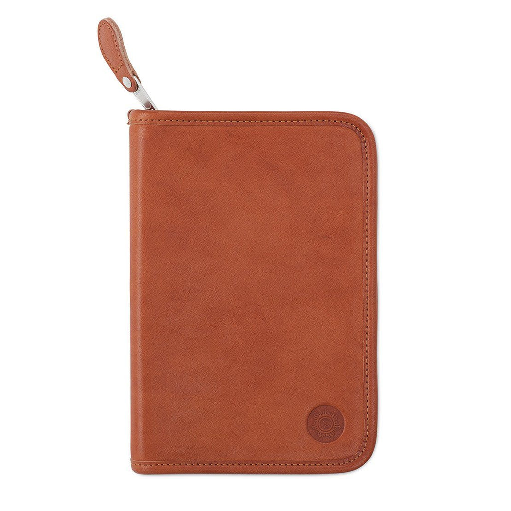 "Sonnenleder ""Lasse"" Vegetable Tanned Leather School Case, Natural Pen Case Sonnenleder"