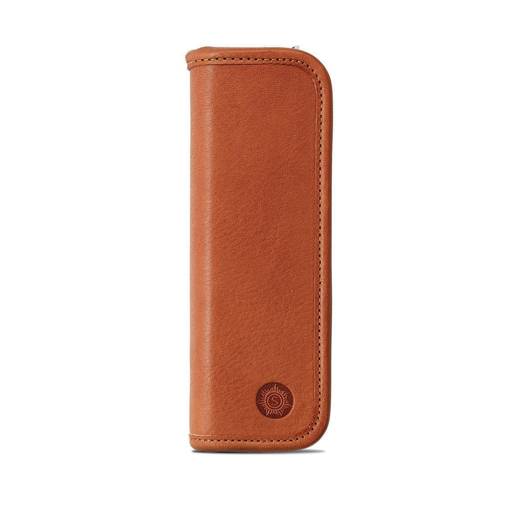 "Sonnenleder ""Richter"" Vegetable Tanned Leather Pen and Pencil Case Pen Case Sonnenleder Natural"