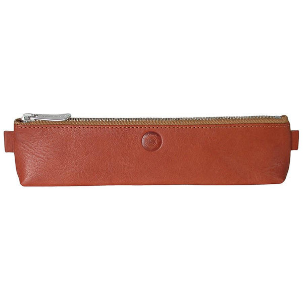 "Sonnenleder ""Simmel"" Pencil Leather Pouch, Natural - Fendrihan Canada - 1"