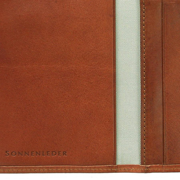 "Sonnenleder ""Inn"" Vegetable Tanned Leather Card Case, Natural - Fendrihan Canada - 2"