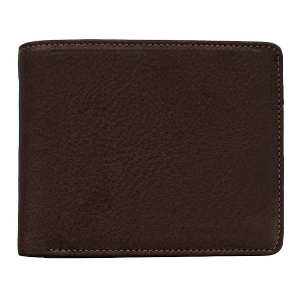 "Sonnenleder ""Spree"" Vegetable Tanned Leather Wallet with 3 CC Slots and Coin Pocket, Mocha Brown - Fendrihan Canada - 4"