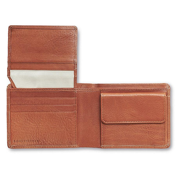 "Sonnenleder ""Lech"" Vegetable Tanned Leather Wallet with 8 CC Slots and Coin Pocket, Natural - Fendrihan Canada - 1"
