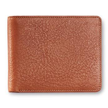 "Sonnenleder ""Ems"" Vegetable Tanned Leather Wallet with 6 CC Slots Leather Wallet Sonnenleder"