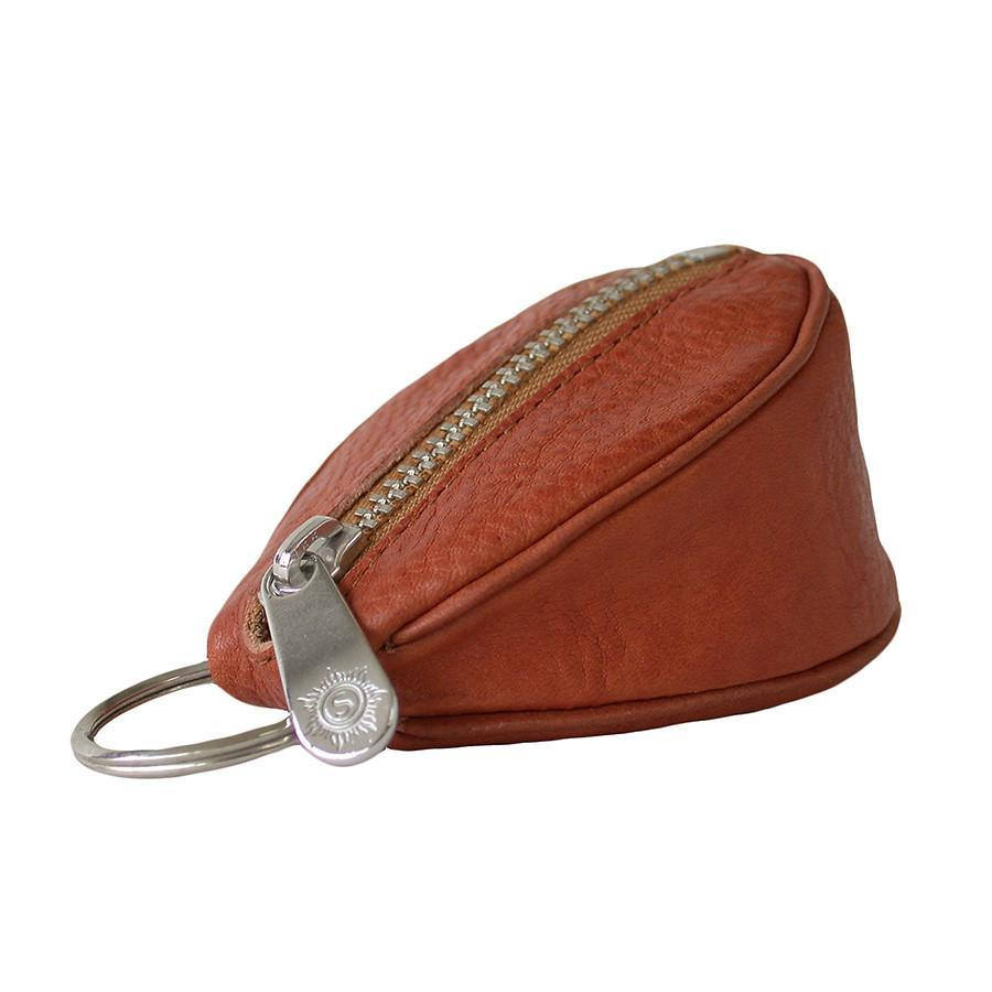 "Sonnenleder ""Puccini"" Naturally Tanned Leather Key Fob Key Case Sonnenleder Natural"