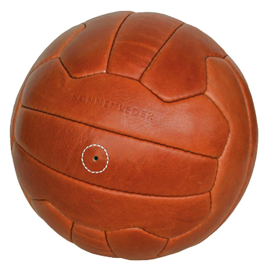 "Sonnenleder ""Torelli 54 Bern"" Vegetable Tanned Leather Soccer Ball, Natural Leather Soccer Ball Sonnenleder"