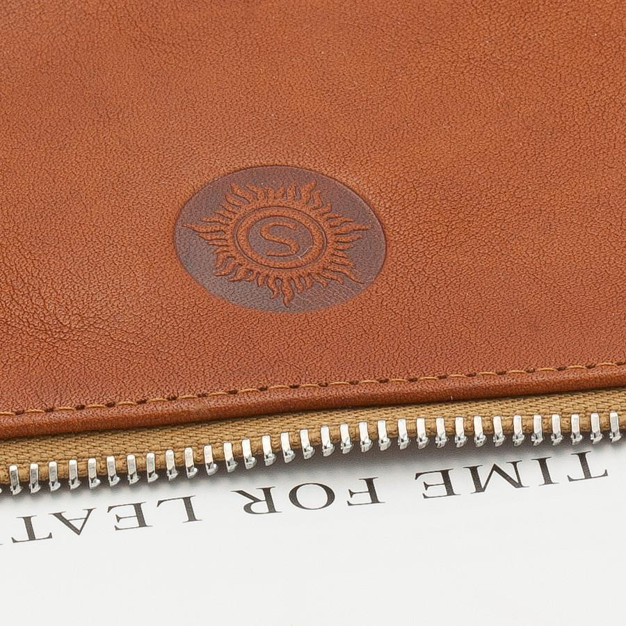 "Sonnenleder ""Weill"" Vegetable Tanned Leather Bank Pouch Leather Bank Pouch Sonnenleder"