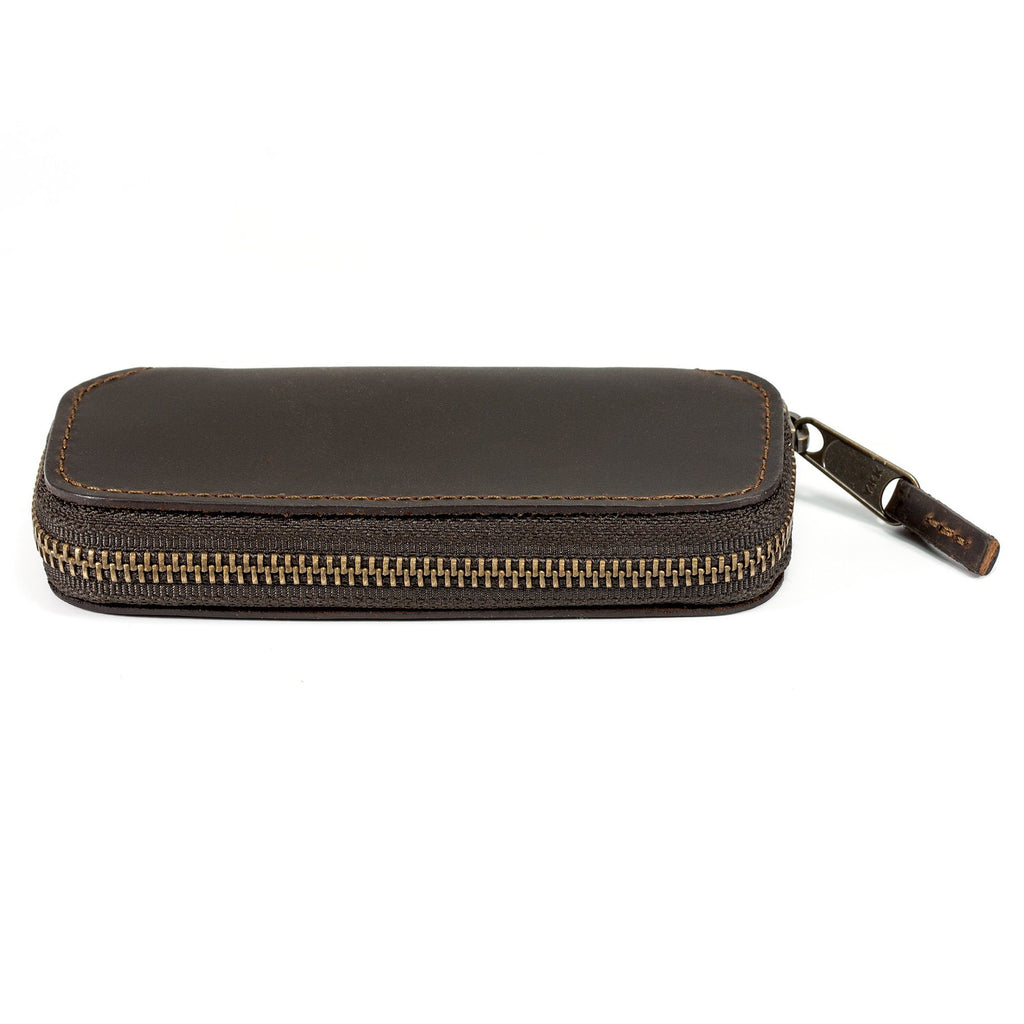 SUPPLY Single Edge Travel Case Razor Case SUPPLY Dark Brown